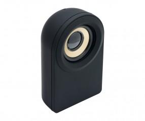 Lautsprecher mit Bluetooth® Technologie REFLECTS-CAPSULE mit Werbeanbringung schwarz