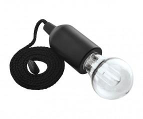 LED Lampe mit effektvollem Wechsellicht REFLECTS-GALESBURG III BLACK Werbegeschenk schwarz