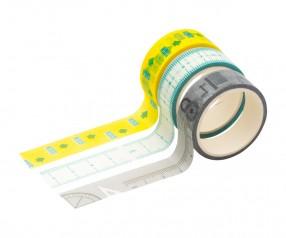 Deko-Klebebänder REFLECTS-GATINEAU mit Beschriftung mehrfarbig