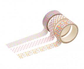 Deko-Klebebänder REFLECTS-KIROV Werbeartikel mehrfarbig