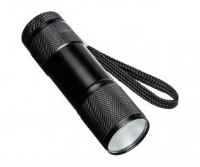Taschenlampe REFLECTS-FORLI Werbegeschenk schwarz