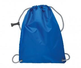Turnbeutel REFLECTS-WASSILLA BLUE mit Beschriftung blau