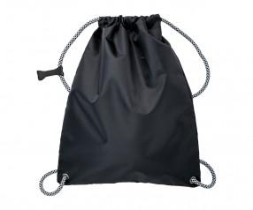 Turnbeutel REFLECTS-WASSILLA BLACK Werbeartikel schwarz
