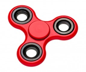 REFLECTS-SPINNER RED mit Logo rot