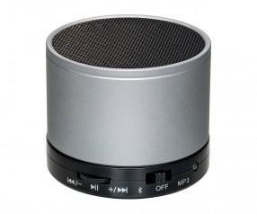 Lautsprecher mit Bluetooth® Technologie REFLECTS-FERNLEY SILVER Werbegeschenk silber