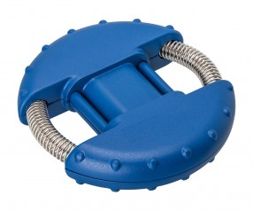 Handtrainer REFLECTS-IVALO BLUE mit Beschriftung blau