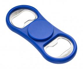 Spinner Flaschenöffner REFLECTS-LERWICK BLUE mit Beschriftung blau