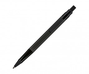 REFLECTS Kugelschreiber CLIC CLAC-LOGRONO DARK GREY mit Werbeanbringung dunkelgrau