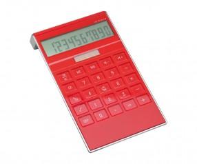 Solartaschenrechner REFLECTS-SAN LORENZO RED mit Logo rot