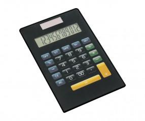 Taschenrechner REFLECTS-TURKU BLACK Promotion-Artikel schwarz