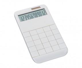 Taschenrechner REFLECTS-SPECTACULATOR WHITE mit Werbeanbringung weiß