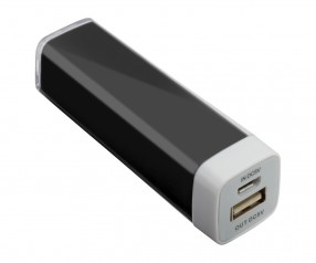 Powerbank REFLECTS-ABERDEEN BLACK 2200 mAh Promotion-Artikel schwarz