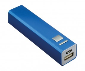 Powerbank REFLECTS-BOSTON DARK BLUE 2200 mAh Werbeartikel dunkelblau