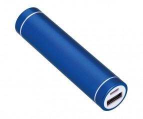 Powerbank REFLECTS-DELPHI BLUE 2200 mAh Werbeartikel dunkelblau