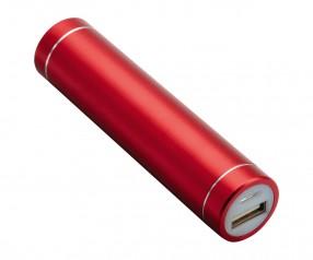 Powerbank REFLECTS-DELPHI RED 2200 mAh Werbegeschenk rot
