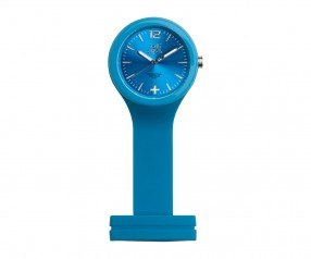 REFLECTS Uhr LOLLICLOCK-CARE LIGHT BLUE mit Werbeanbringung hellblau
