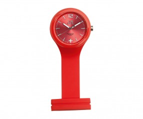REFLECTS Uhr LOLLICLOCK-CARE RED Werbegeschenk rot
