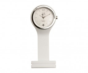 REFLECTS Uhr LOLLICLOCK-CARE WHITE SILVER Promotion-Artikel weiß/silber