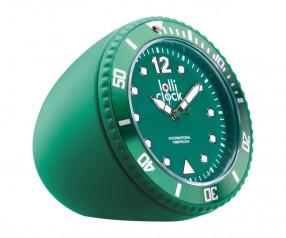 REFLECTS Uhr LOLLICLOCK-ROCK GREEN Werbegeschenk grün