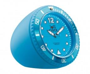 REFLECTS Uhr LOLLICLOCK-ROCK LIGHT BLUE Promotion-Artikel hellblau
