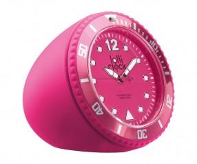 REFLECTS Uhr LOLLICLOCK-ROCK MAGENTA mit Werbeanbringung magenta