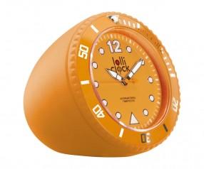 REFLECTS Uhr LOLLICLOCK-ROCK ORANGE mit Beschriftung orange