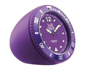 REFLECTS Uhr LOLLICLOCK-ROCK PURPLE Werbeartikel lila