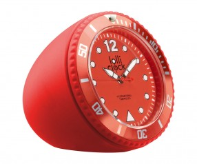 REFLECTS Uhr LOLLICLOCK-ROCK RED Werbemittel rot