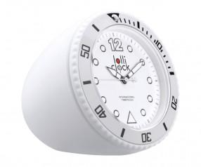 REFLECTS Uhr LOLLICLOCK-ROCK WHITE Werbegeschenk weiß