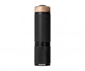 REFLECTS Taschenlampe DURACELL-TOUGH™ mit Werbeanbringung schwarz