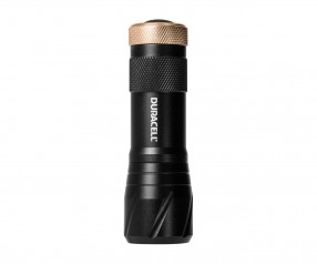 REFLECTS Taschenlampe DURACELL-TOUGH™ Werbemittel schwarz