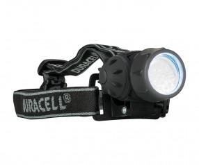 REFLECTS Kopflampe DURACELL-EXPLORER™ Promotion-Artikel schwarz