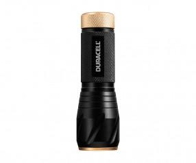 REFLECTS Taschenlampe DURACELL-TOUGH™ mit Logo schwarz