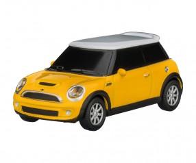 REFLECTS USB-Speicherstick Mini Cooper 1:68 YELLOW 16GB Werbepräsent gelb