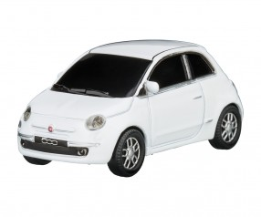 REFLECTS USB-Speicherstick Fiat 500 2007 1:68 WHITE 16GB Promotion-Artikel weiß