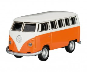 REFLECTS USB-Speicherstick VW Bus T1 1:72 ORANGE 16GB Werbemittel orange