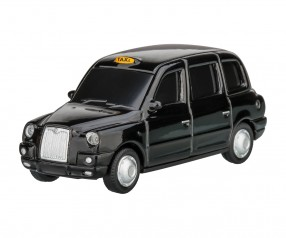 REFLECTS USB-Speicherstick London Taxi TX4 1:72 BLACK 16GB Promotion-Artikel schwarz