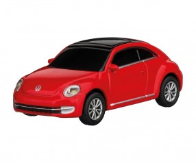 REFLECTS USB-Speicherstick VW Beetle 1:72 RED 16GB mit Logo rot