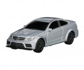 REFLECTS USB-Speicherstick Mercedes Benz C63 AMG 1:72 SILVER 16GB Promotion-Artikel silber