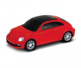 REFLECTS Lautsprecher mit Bluetooth® Technologie VW Beetle 1:36 RED Werbegeschenk rot