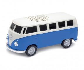 REFLECTS Lautsprecher mit Bluetooth® Technologie VW Bus T1 1:36 BLUE Promotion-Artikel blau