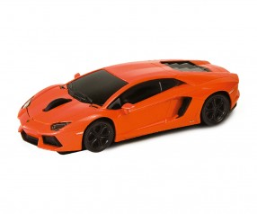 REFLECTS Computermaus Lamborghini Aventador 1:32 ORANGE mit Werbeanbringung orange