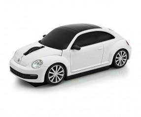 REFLECTS Computermaus VW Beetle 1:32 WHITE Werbepräsent weiß