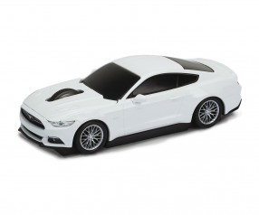 REFLECTS Computermaus Ford Mustang 1:32 WHITE mit Werbeanbringung weiß