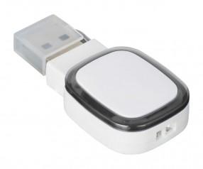 USB-Speicherstick REFLECTS-COLLECTION 500 Werbegeschenk weiß/schwarz