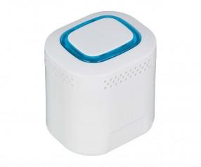 Bluetooth®-Lautsprecher S REFLECTS-COLLECTION 500 mit Beschriftung weiß/hellblau