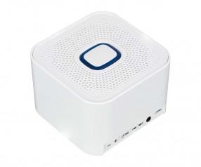 Bluetooth®-Lautsprecher XL REFLECTS-COLLECTION 500 mit Beschriftung weiß/blau