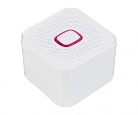 Bluetooth®-Lautsprecher XL REFLECTS-COLLECTION 500 mit Logo weiß/magenta