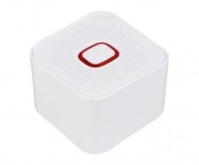 Bluetooth®-Lautsprecher XL REFLECTS-COLLECTION 500 mit Beschriftung weiß/rot