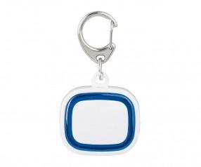 Schlüssellicht aufladbar REFLECTS-COLLECTION 500 mit Logo weiß/blau